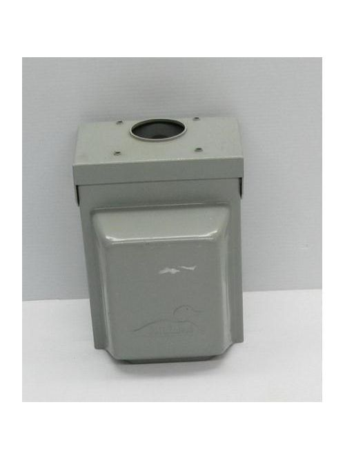Midwest Electric Products U013 120 Volt 30 Amp Galvanized Steel Unmetered Power Outlet