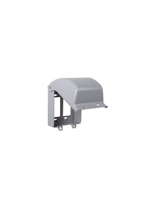 TayMac Corp MX6200 2-Gang Gray Die-Cast Metal While-In-Use Device Cover
