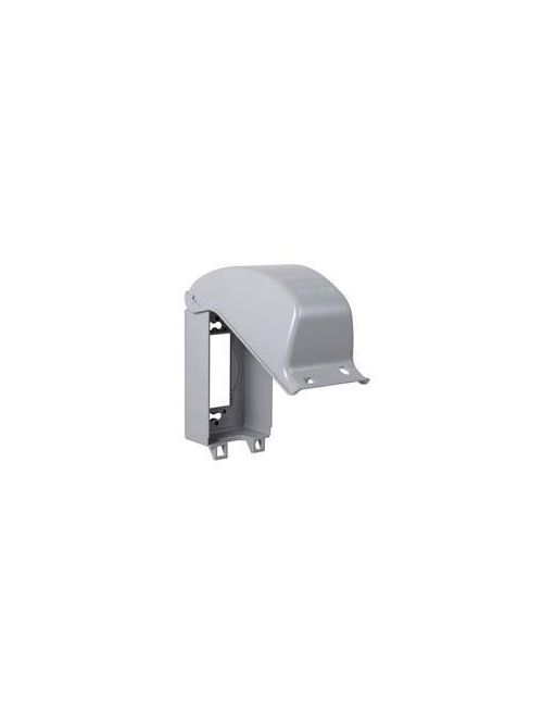 TayMac Corp MX3200 Gray Die-Cast Metal Vertical Mount Weatherproof While-In-Use Device Cover