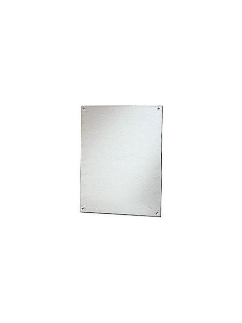 Stahlin (RobRoy) BP1412AL 12.88 x 10.88 Inch Aluminum Flat Enclosure Back Panel
