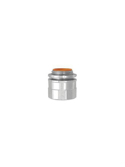 American Fittings FLX50B 1/2 Inch Steel Insulated FMC Connector
