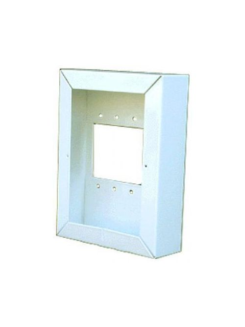 Alpha Communications IH700W White Enamel Surface Back Box