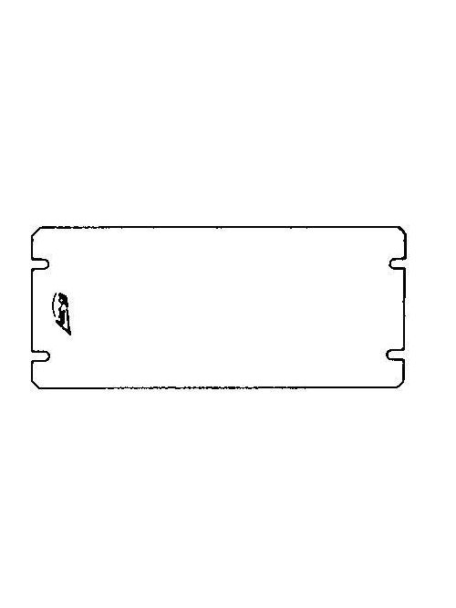 Arc-Co Electrical Boxes and Fittings 4GC-FB-4G Flat Blank
