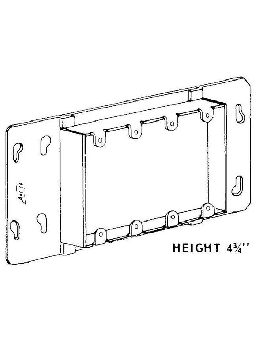 Arc-Co Electrical Boxes and Fittings 3GC-3/4 Adaptor Covers