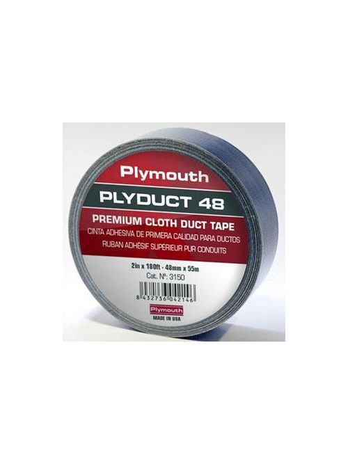 Plymouth Rubber Company 03150 2 Inch x 60 Yard Cloth Duct Tape
