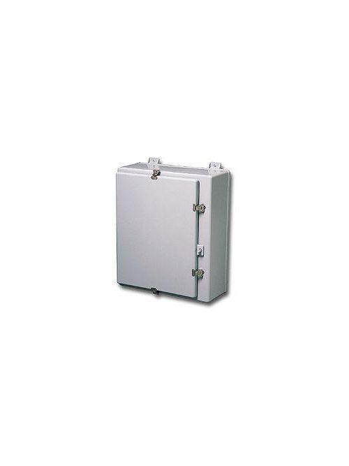 Stahlin (RobRoy) N30208HWT 32.86 x 20.99 x 9.89 Inch NEMA 4X Fiberglass Hinged Cover Wall Mount Enclosure