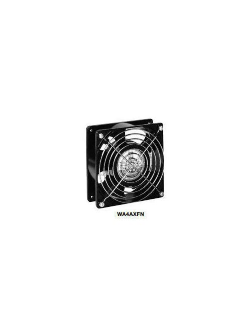 Wiegmann WA4AXFN 115 VAC 50/60 Hz 2500/3000 RPM Black Die-Cast Aluminum Muffin Fan