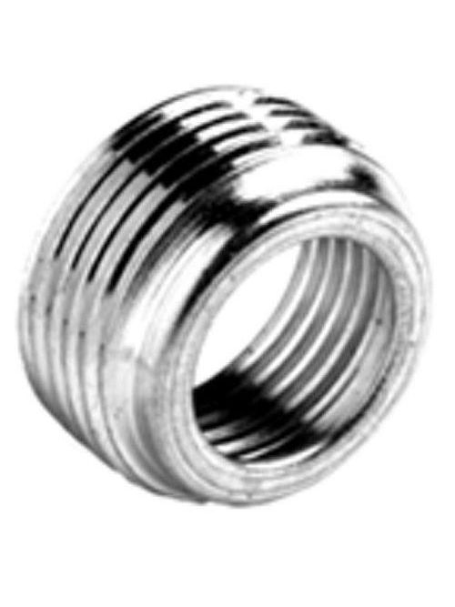 "Bridgeport 1161 3/4"" x 1/2"" Reducing Bushing, Zinc-Plated Steel"