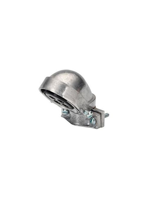 "Bridgeport 1256 2"" Clamp-On Service Entrance Cap, Aluminum"