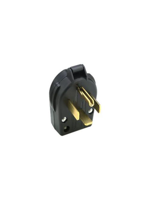 Arrow Hart Wiring 9462AN 60 Amp 125/250 VAC 3-Pole 4-Wire NEMA 14-60P Gray Straight Blade Angled Plug
