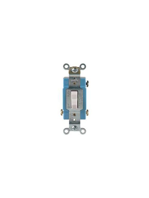 Arrow Hart Wiring AH1221LTV 20 Amp 120/277 VAC 1-Pole Ivory Lighted Toggle Switch
