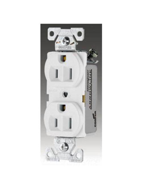 Arrow Hart Wiring CR15GY 15 Amp 125 Volt Duplex Receptacle