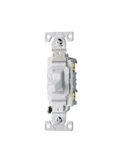 Eaton Wiring Devices CS115W 15 Amp Toggle Switch