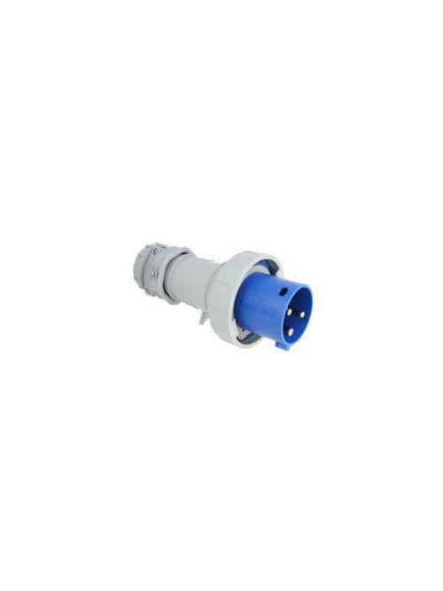 Arrow Hart Wiring AH360P6W 60 Amp 250 VAC 2-Pole 3-Wire Blue Watertight Pin and Sleeve Plug
