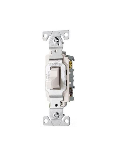 Eaton Wiring Devices CS320W 3-Way 20 Amp Toggle Switch
