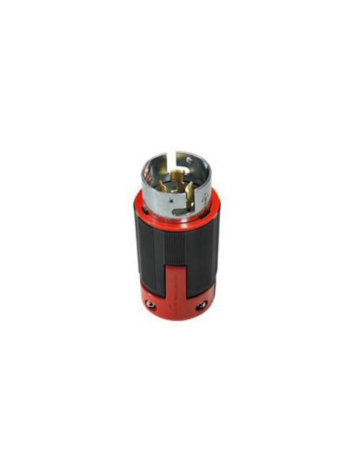 Eaton Wiring Devices CS6365EX 50 Amp 125/250 VAC 3-Pole 4-Wire Black and Red Nylon Non-NEMA Locking Plug