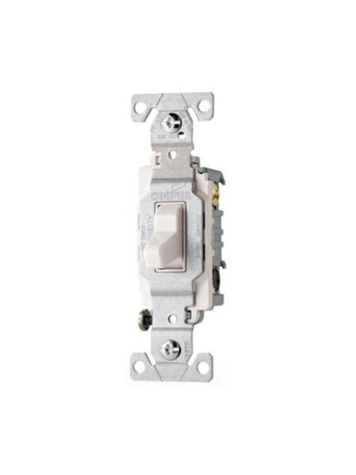 Eaton Wiring Devices CS315W 3-Way 15 Amp Toggle Switch