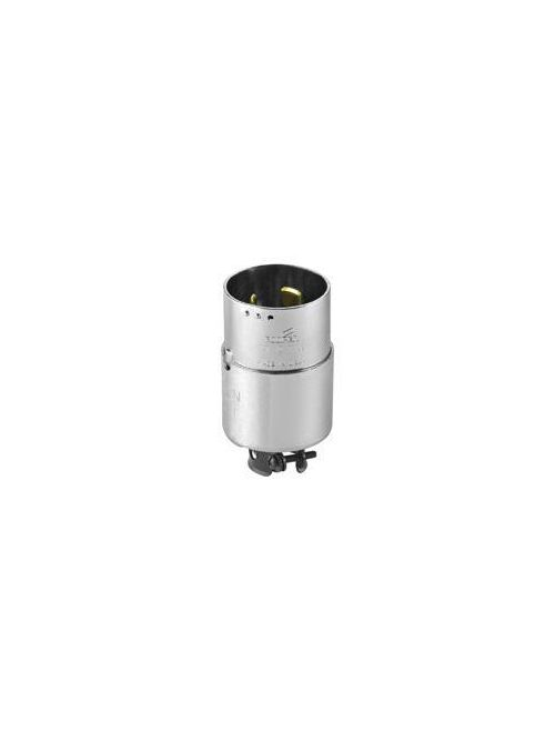 Arrow Hart Wiring 7765 50 Amp 600 VAC 250 VDC 3-Pole 4-Wire Non-NEMA Black Armored Locking Plug