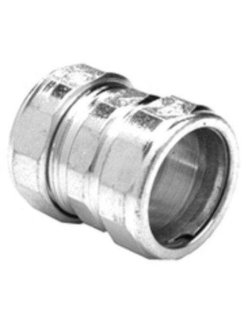 """Bridgeport 261-US 3/4"""" EMT Compression Coupling, Steel (USA)"""