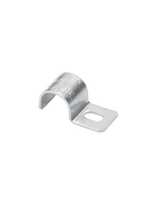 Bridgeport 891-MC One-Hole Steel Strap, Cable Size 14/3, 12/3
