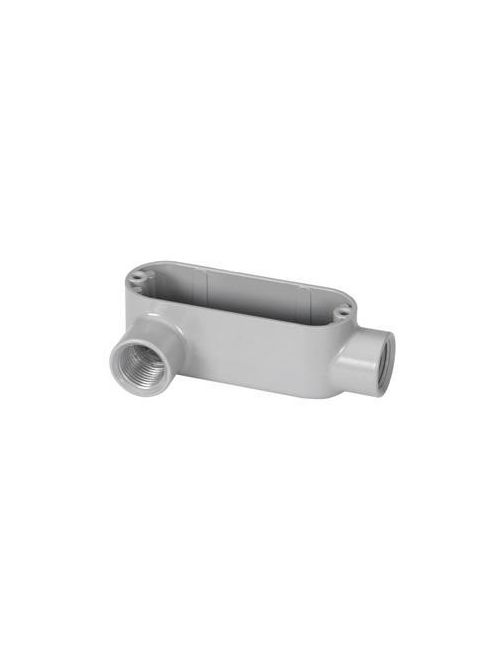 "Bridgeport LL-41 1/2"" Type-LL Conduit Body, Aluminum"