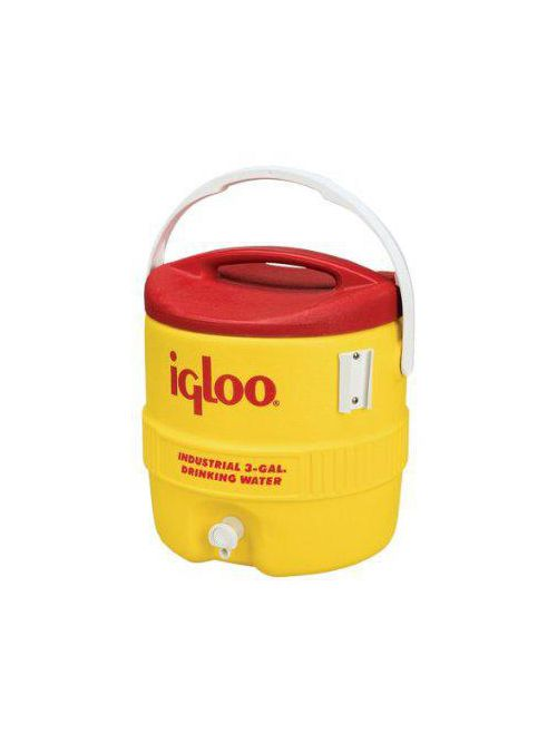 Igloo 431 Yellow/Red 3 Gallon Beverage Cooler