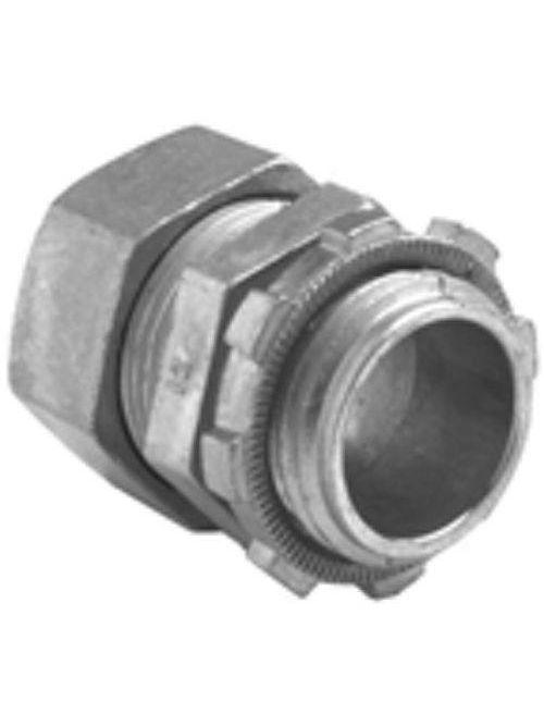 """Bridgeport 251-DC2 3/4"""" EMT Compression Connector, Zinc Die Cast"""