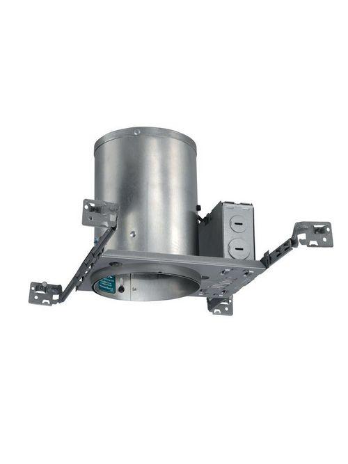 Juno IC20NW 120 Volt 5 Inch Incandescent Recessed Downlight Housing with Push-In Electrical Connector