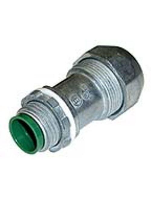 "Bridgeport 595-DC2 3/8"" Snap Type Connector, PVC JMC / TECK, Die Cast"