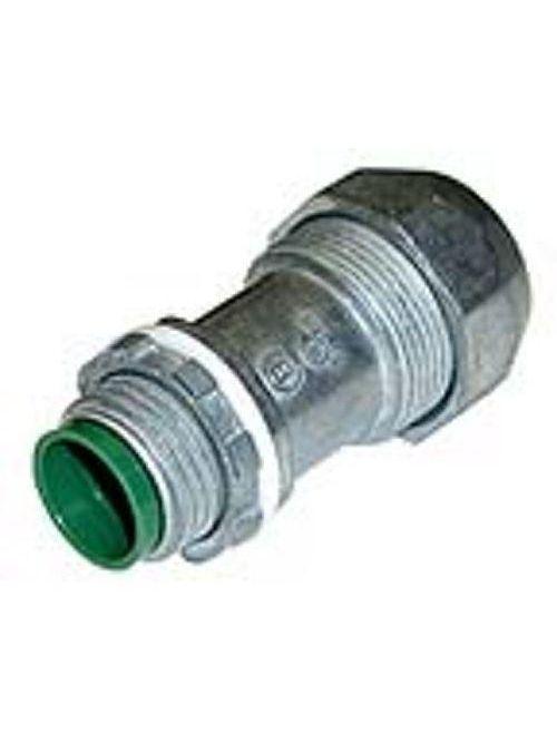 """Bridgeport 596-DC2 1/2"""" Snap Type Connector, PVC JMC / TECK, Die Cast"""
