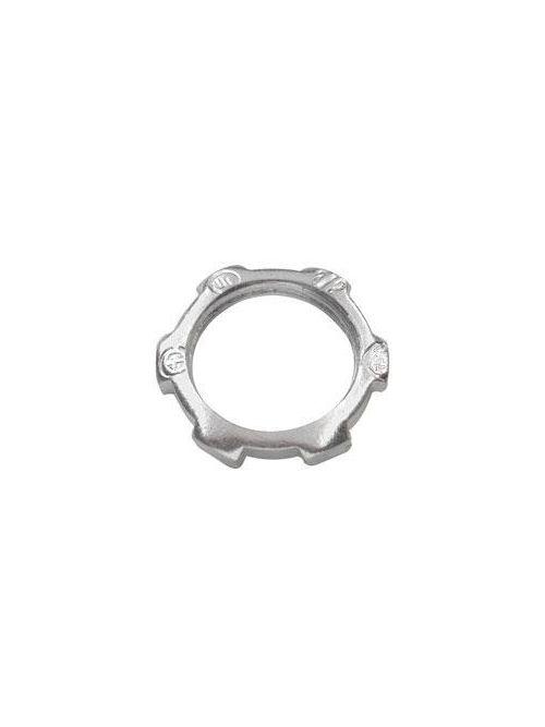 Crouse-Hinds Series 14 1-1/4 Inch Malleable Iron Rigid Conduit Locknut
