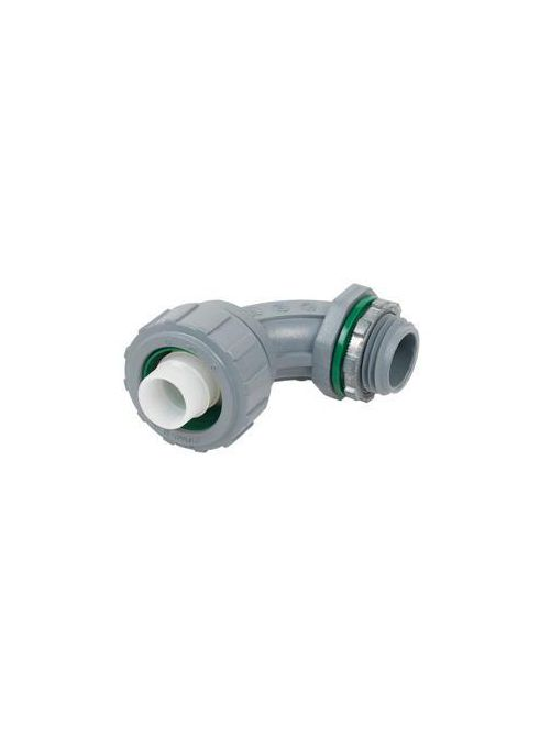 "Bridgeport 471-NMLT 3/4"" Liquidtight 90deg Connector, Non-Metallic"