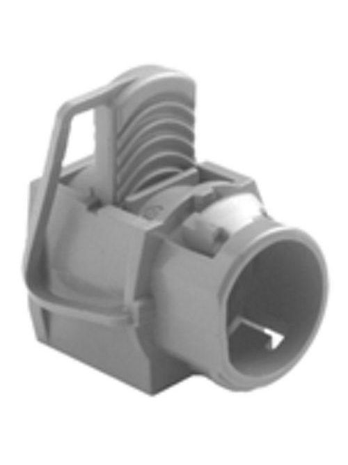 """Bridgeport 620-NM 1/2"""" Snap-in Connector, NM/Portable Cord, PVC"""
