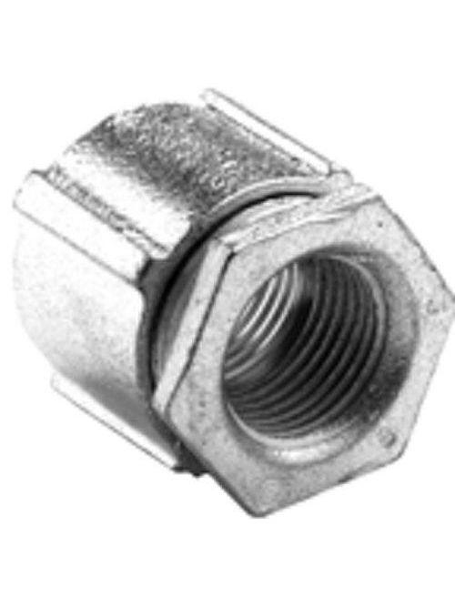 """Bridgeport 1123-AL 1"""" 3pc Conduit Coupling, Aluminum"""