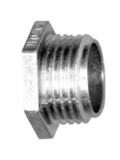 "Bridgeport 1105-DC 1-1/4"" Rigid/IMC Conduit Nipple, Zinc Die Cast"