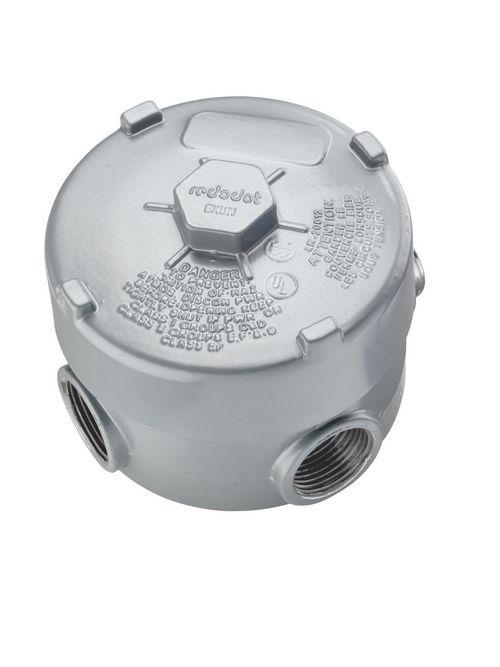 Thomas & Betts EXUN-2 3/4 Inch Die-Cast Aluminum Rigid Conduit Outlet Box