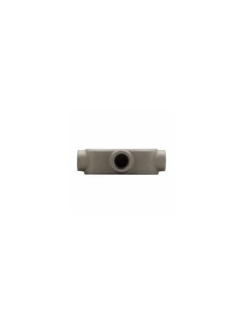 Crouse-Hinds Series T49 1-1/4 Inch Copper Free Aluminum Mark9 Type T Threaded Rigid Conduit Body
