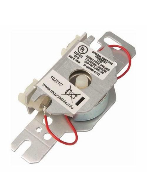 Edwards Signaling 1064-N5 120 VAC 0.05 Amp 86 dB Adjustable Volume Buzzer with Terminal
