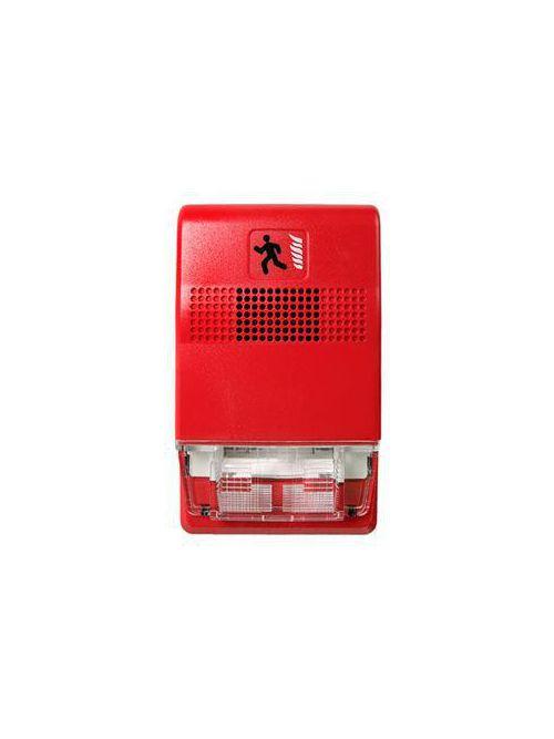 Edwards Signaling EG1R-VM 24 VDC 0.255 Amp Red Xenon Strobe