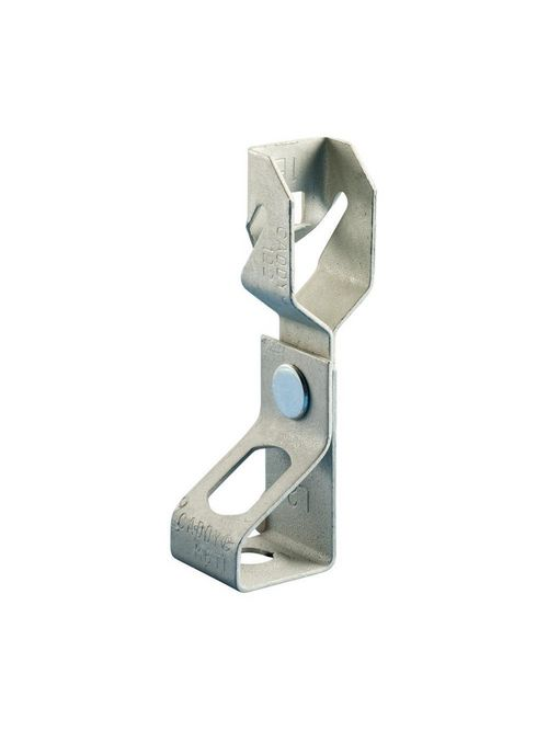 Caddy 1224TI 1/16 to 1/4 Inch Steel Rod to Z-Purlin Clip