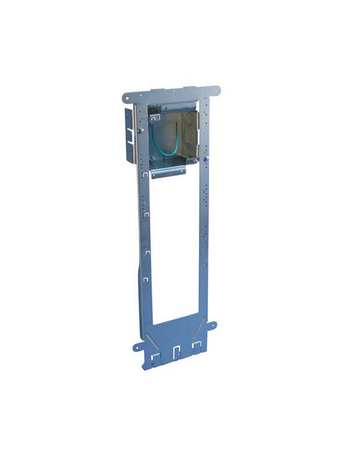 Erico A1FF0G 22-3/16 x 7-3/4 x 3-5/8 Inch 32.8 Inch Pre-Galvanized Steel Floor Mount Box
