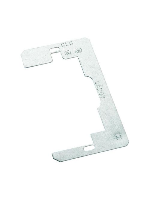 Caddy RLC 2.3 x 4.25 Inch Plain Steel Device Leveler and Retainer