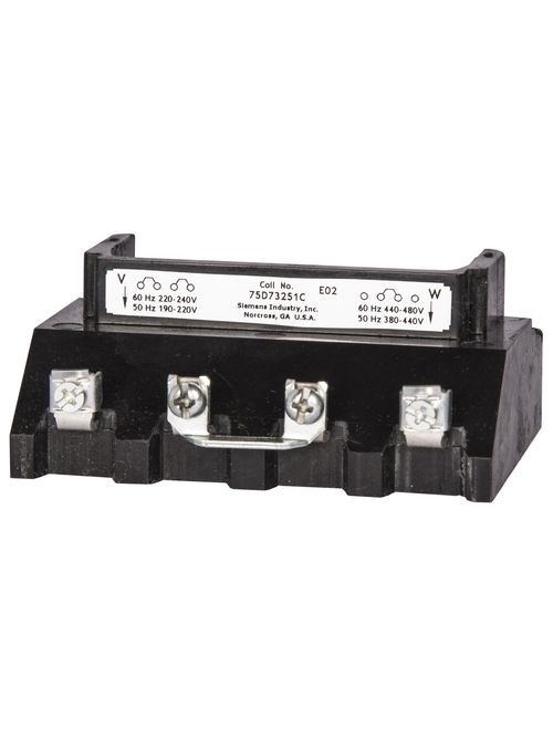 Siemens Industry 75D73251A 110/190 to 220 VAC 50 Hz/110 to 120/220 to 240 VAC 60 Hz Contactor Coil