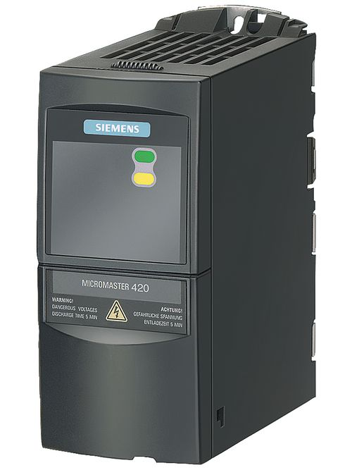 Siemens Industry 6SE64402UD175AA1 380 to 480 VAC 2.2 Amp 1 Hp 3-Phase 2-I/O Variable Speed Drive