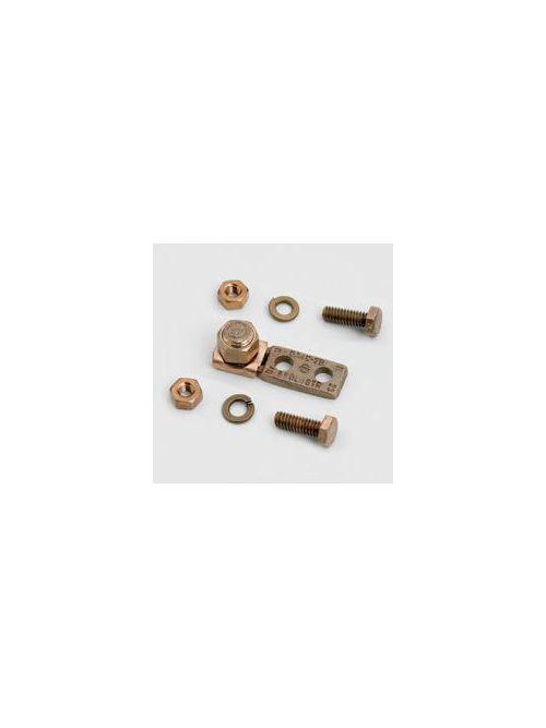 B-Line Series SB47802 8 to 4 AWG Copper Alloy 2-Hole Mechanical Lug