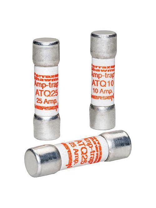 Ferraz Shawmut ATQ25 25 Amp 500 Volt Glass Melamine Laminated Time Delay Midget Fuse