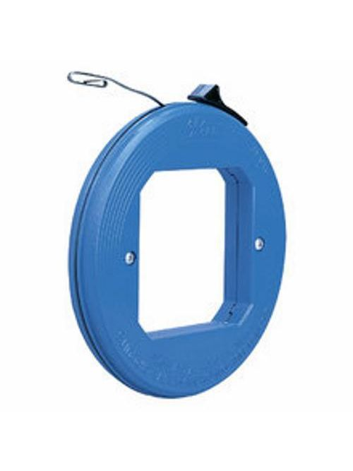 Ideal Industries 31-010 1/8 x 0.045 Inch x 50 Foot Blued Steel Formed Hook Fish Tape