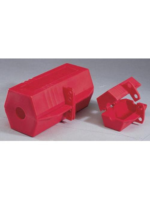 Ideal Industries 44-818 2 x 2 x 3-1/2 Inch 110 Volt Durable Plastic Plug Lockout
