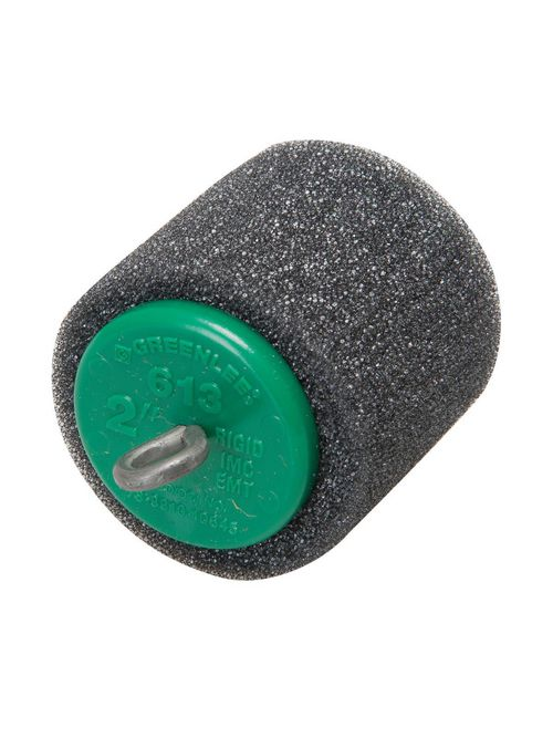 Greenlee 613 2 Inch Green Flexible Foam Rigid/EMT/IMC Blower or Vacuum Conduit Piston
