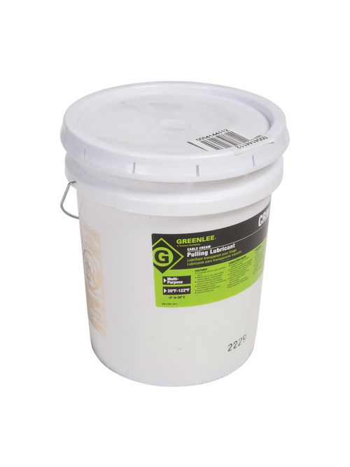 Greenlee CRM-5 Non-Hazardous 5 Gallon Cable Pulling Lubricant